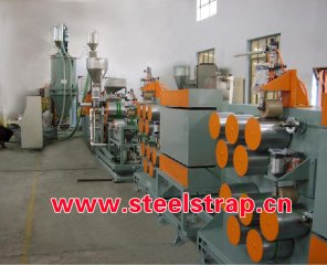 strapping production line